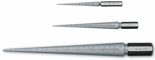 Round Taper Gage 1 to 25 millimeter 710